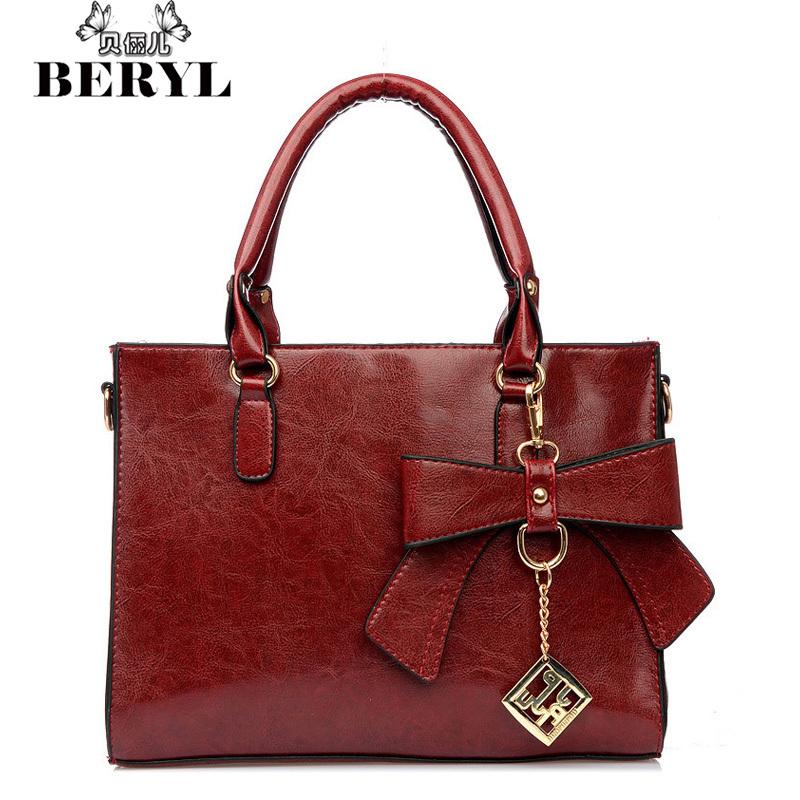 Vintage Womens Shoulder Bags Womens Totes Handbags Classic Women Messenger Bag High Quality Bow Tote Bolsas Femininas Sac #33<br><br>Aliexpress
