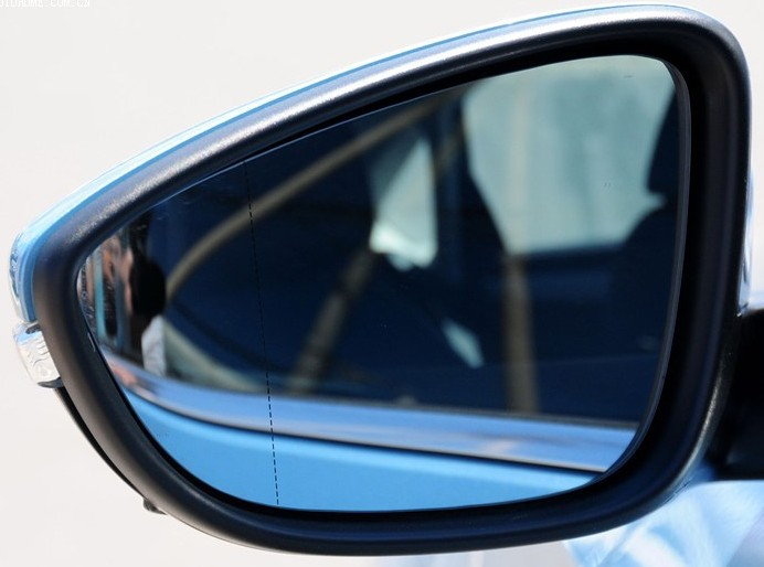 Volkswagen new Passat B4 B5 B7 big vision mirror side rearview reflective blue lenses