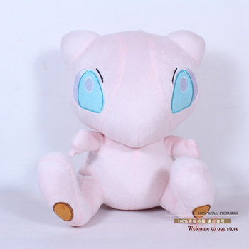 "Anime Cartoon Pokemon Mew Plush Toy Soft Stuffed Plush Doll 12"" 30cm Gifts For Christmas Birthday PKPD145"