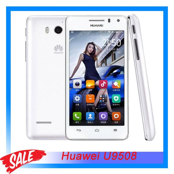 Original Huawei U9508 4.5'' K3V2 Quad Core 1.4GHz Smartphone RAM 1G + ROM 8GB Mobile Phone Dual Camera(China (Mainland))
