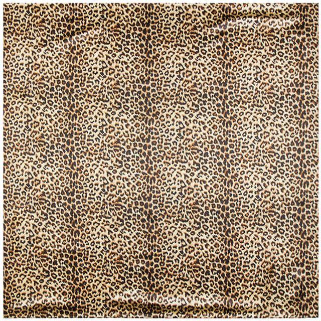 90 см * 90 см евро фирменный стиль леопарда подбора цвета женщины шелковый атлас большой косынка