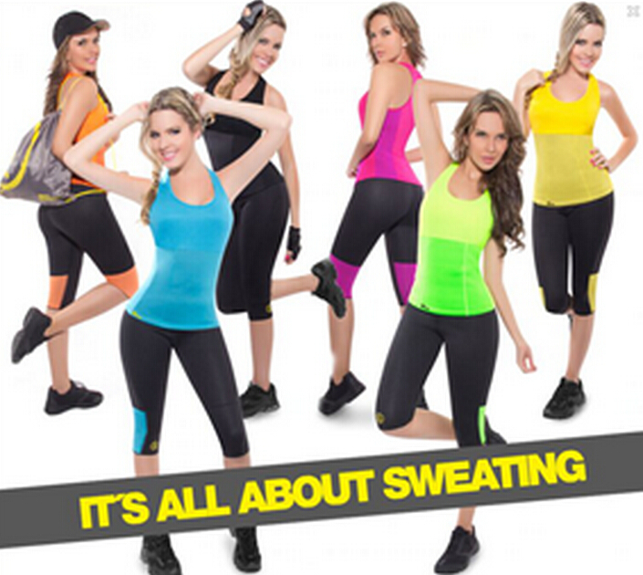 Majic Hot Shapers Stretch Neoprene Slimming Vest Body Shaper Control Vest,it's all about sweating(China (Mainland))