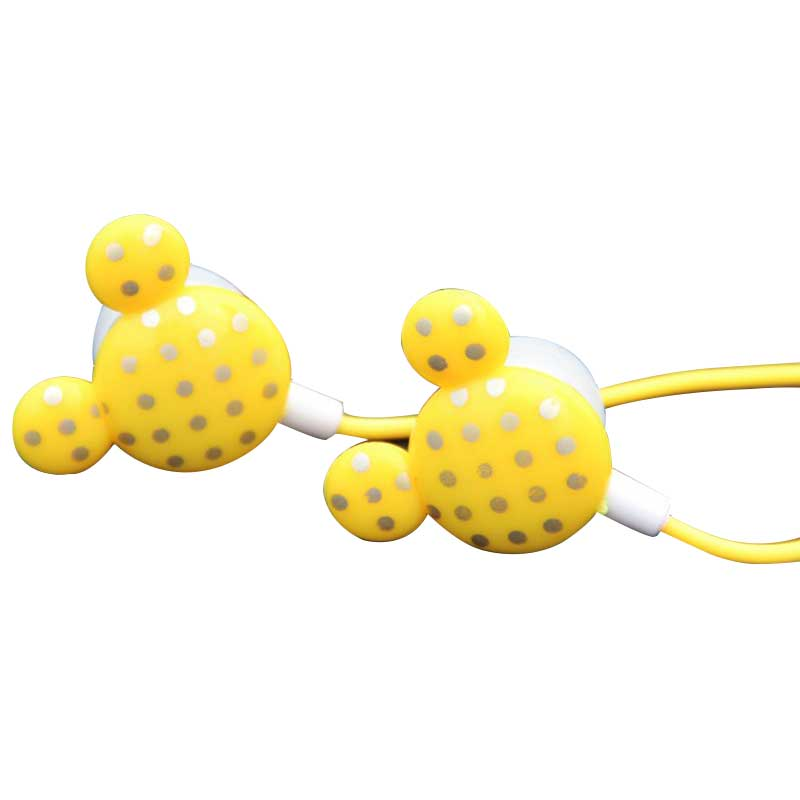 Cheapest Earphones Cute Mouse In-ear Earphone Cartoon Earbud Sports Mini Earphone For Iphone Xiaomi All Phone For Ipod/Mp3/Mp4(China (Mainland))