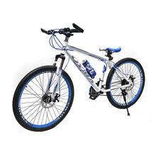 2016 Hot MTB 21 Speed Mountain Bike Front and Rear Mechanical Disc Brakes Bike 142-193cm High Men Women Mountain Bike 5801-5(China (Mainland))