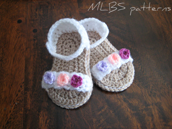 Crochet Baby Sandals Sole Pattern ~ Traitoro for .