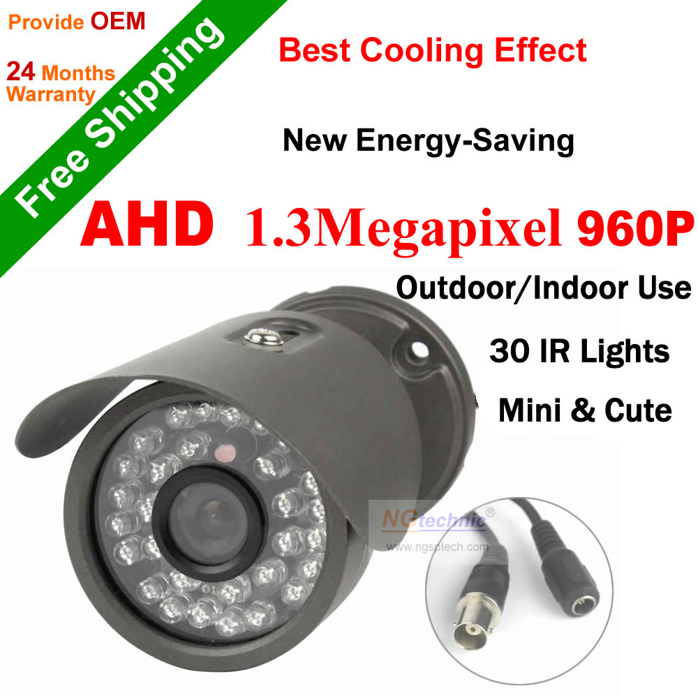 AHD CCTV Camera Outdoor Waterproof HD 960P Camera With IRCUT Filter Night Vision Surveillance Bullet Analog High Definition CCTV<br><br>Aliexpress