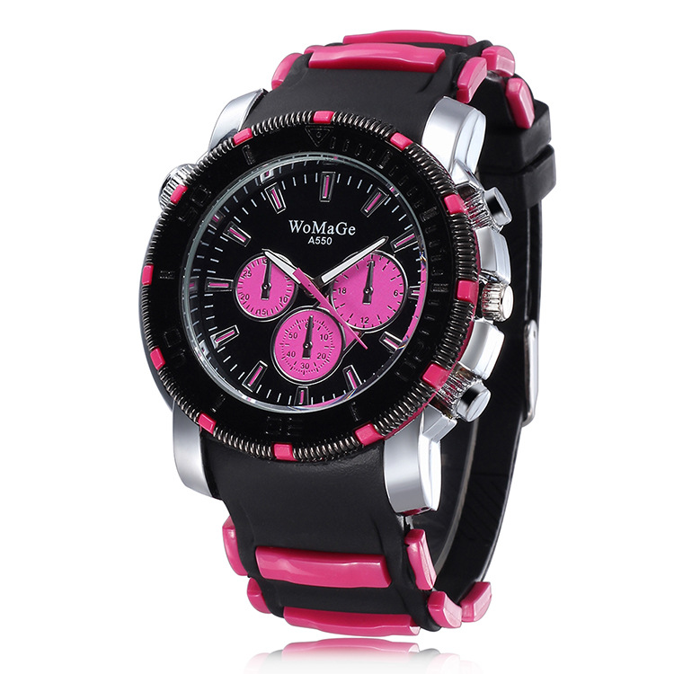 2016 fashion sports watches silicone available for