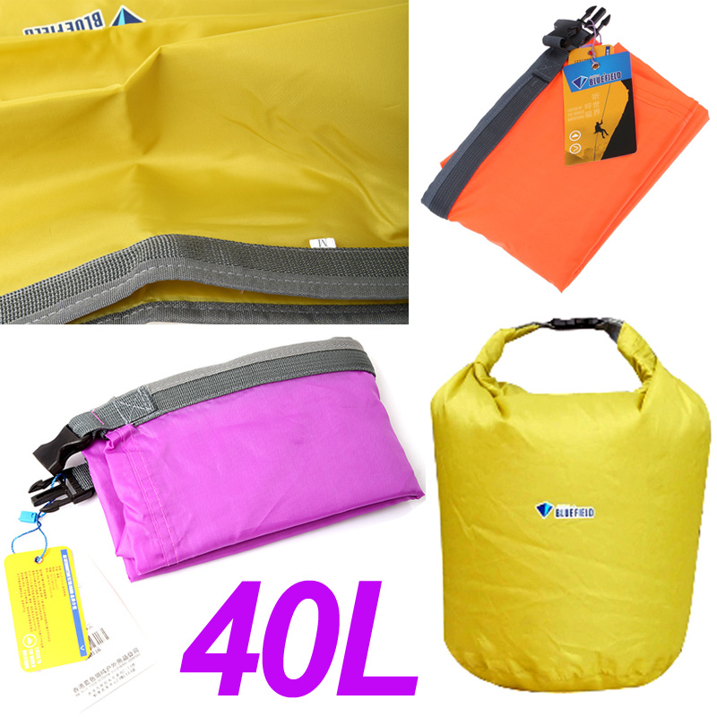 40L M Size Waterproof Storage Dry Bag for Canoe Kayak Rafting Sports Camping Travel Kit Equipment Wholesale(China (Mainland))