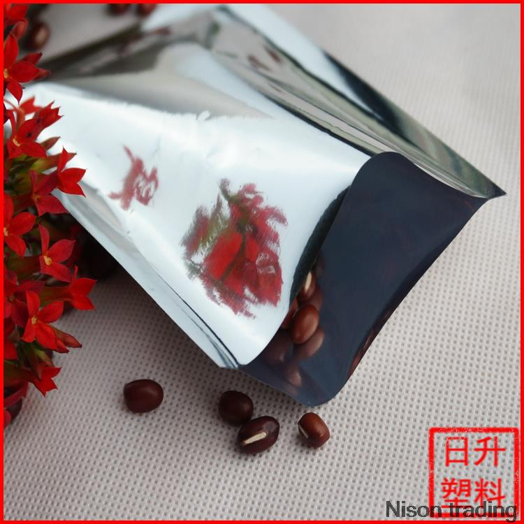 5*7cm,200pieces/lot aluminium foil bag heat seal packing food bag/ vacuum plastic pouch(China (Mainland))