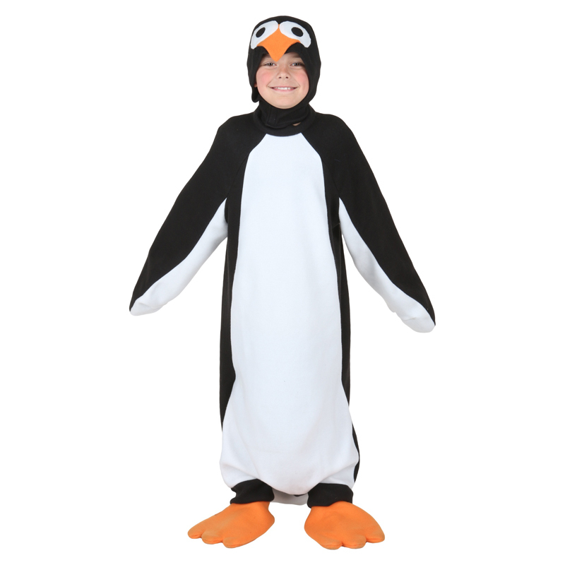 Child Happy Penguin Costume Kids Animal Halloween Carnival Party Cosplay Fancy Dress(China (Mainland))