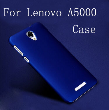 New High Quality Matte Rubberized Anti-skid Style Cell Phone Case For Lenovo A5000 Case Free Shipping(China (Mainland))