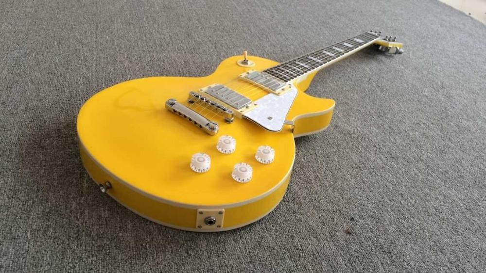 2015 New + Factory + Chibson custom shop electric guitar Glossy Yellow 1959 custom electric guitar Ebony Fretboard(China (Mainland))