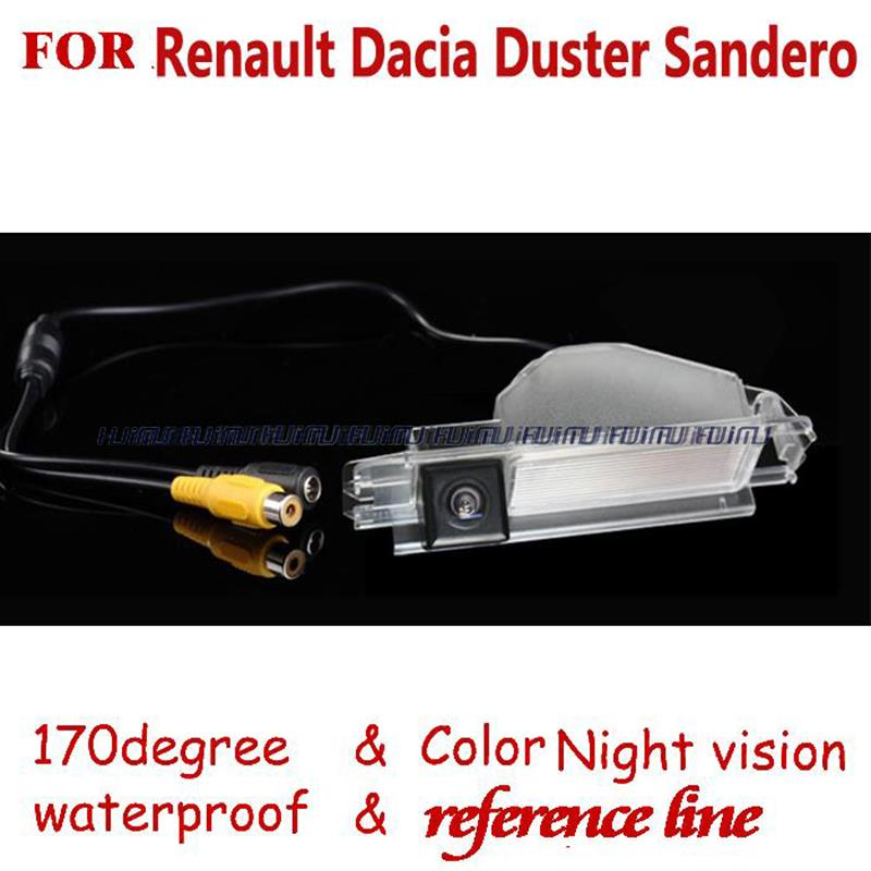 wireless wired Car Rear View camera Reverse backup parking sensor for 2013 Renault Dacia Duster Sandero(China (Mainland))
