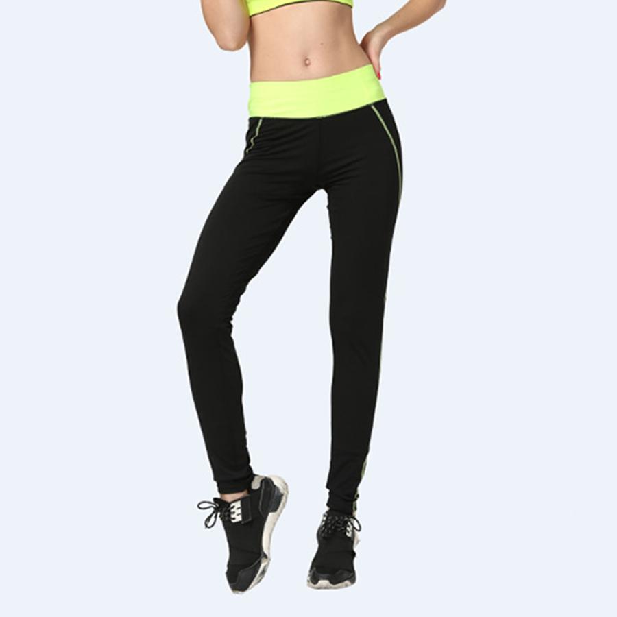 женщины полосатые спортивные леггинсы фитнес простирания