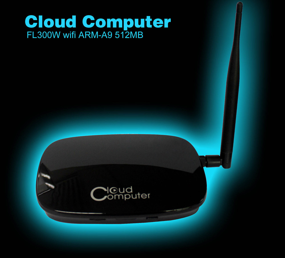 New FL300W WIFI Cloud Computer 1080P HDMI VGA RJ45 Ports Share Mini PC RDP 7.1 Dual Core 512MB Flash ARM-A9 Thin Client Station(China (Mainland))