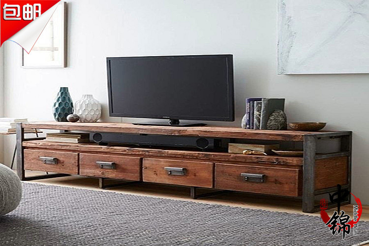 american industrial style loft living room retro to do the. Black Bedroom Furniture Sets. Home Design Ideas