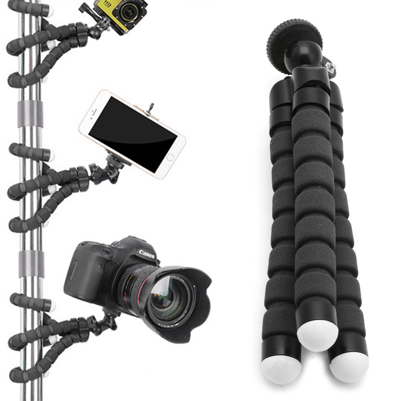 Flexible Tripod Stand Mount Gorilla Monopod Holder Octopus For GoPro Camera #R179T#Drop Shipping(China (Mainland))