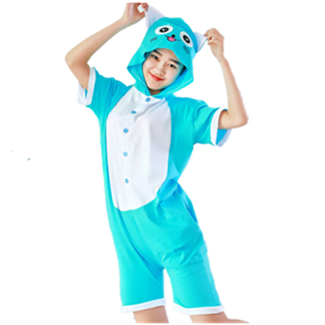 Anime Characters Jumpsuit : Anime fairy tail happy cat cosplay costume summer jumpsuit
