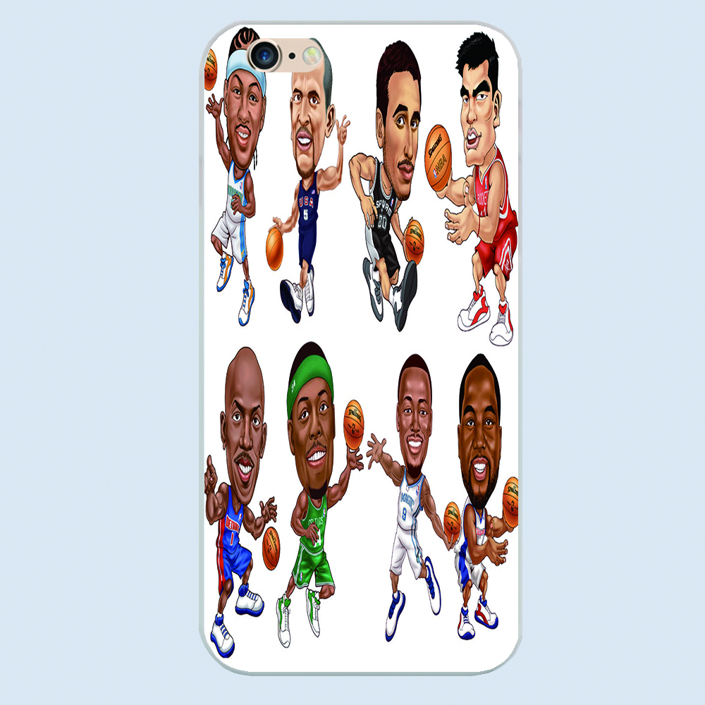 for iphone 6 case Basketball series 65 Very fine and delicate Cell phone sets 5s New product phone cases 4 5 6plus(China (Mainland))