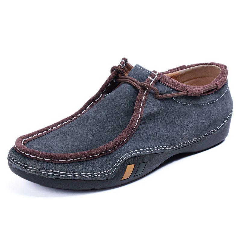 купить Мужская обувь на плоской платформе Zapatos Hombre Mens Flat shoes по цене 2159 рублей