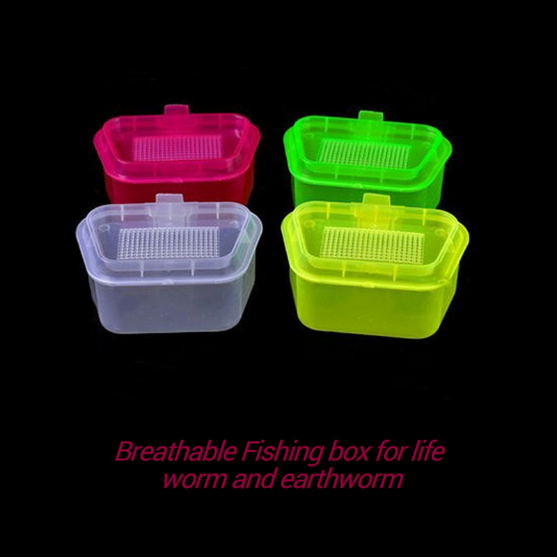 Online buy wholesale worm containers from china worm for Fishing worm box