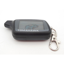 New arrival RU X5 car remote for Tomahawk X5 lcd remote two way car alarm system free shipping(China (Mainland))