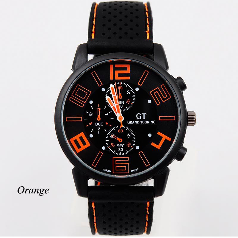 New Wrist Watch Casual Quartz watch men military Watches sport Wristwatch Dropship Silicone Fashion relogio masculino