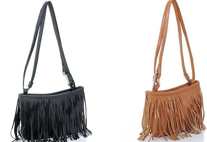 Promotion   Women messenger bags Long Tassel European Style Cross Body Bags Lady Single Shoulder Bags Fashion Bag<br><br>Aliexpress