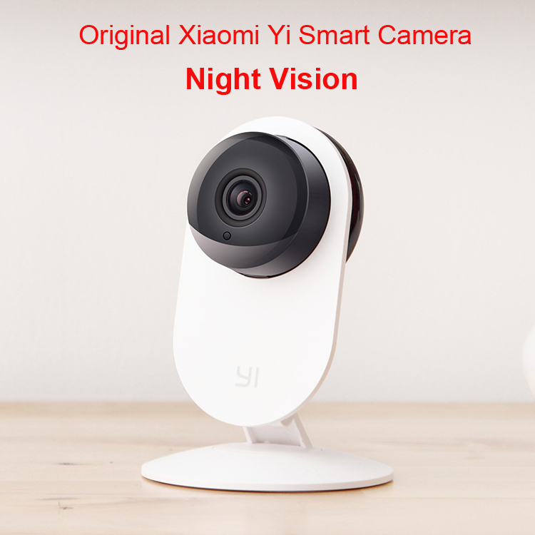 100% Original Xiaomi Yi Smart Camera, Xiaoyi ants Smart Webcam IP camera wifi wireless camaras cctv cam Night Vision Edition(China (Mainland))