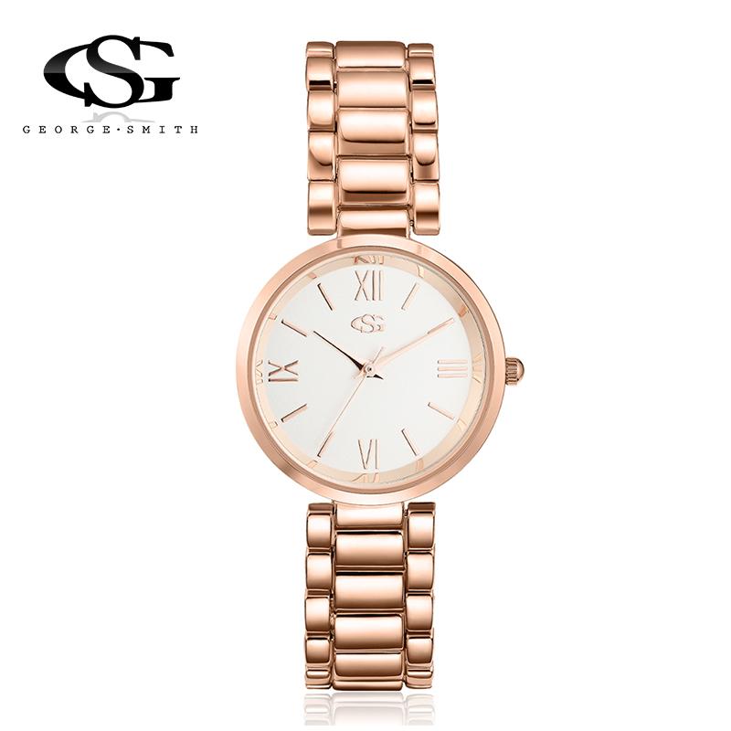 George.Smith Relojes mujer Stainless Steel Wristwatch Quartz Watch Woman Ladies Watches Clock Female Dress Relogio Feminino<br><br>Aliexpress