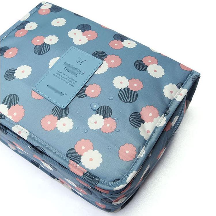 Fashion Creative Waterproof Nylon Women Makeup Bag Cosmetic Bags Case Travel Organizer Portable Storage Toiletry Bag Wash Kits(China (Mainland))