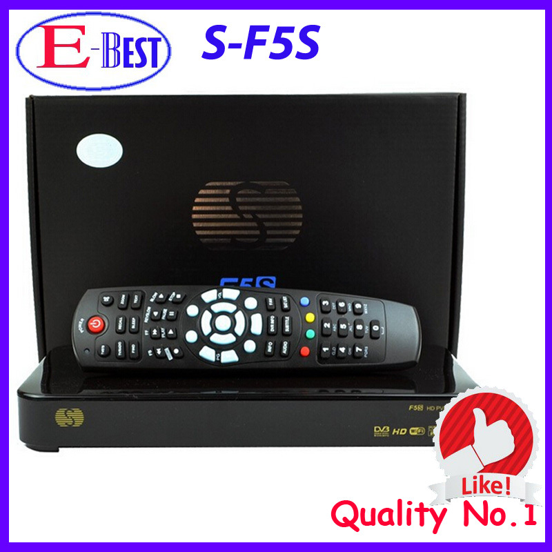 Original Skybox F5 skybox F5s 1080P Full HD Dual-Core CPU Satellite Receiver Similar To Skybox F3,Skybox F4 Free Shipping Post(China (Mainland))