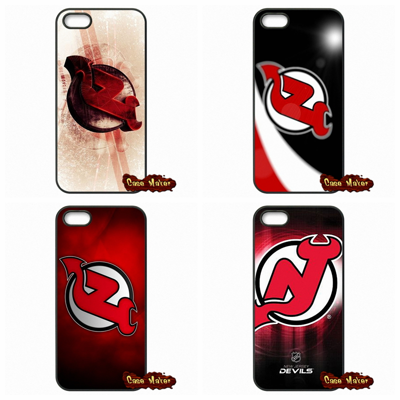 NHL New Jersey Devils logo Case Cover For HTC One X S M7 M8 Mini M9 A9 Plus Desire 816 820 Blackberry Z10 Q10(China (Mainland))