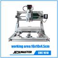 CNC 1610 GRBL DIY CNC machine 3 Axis Pcb Pvc Milling Machine Wood Carving Wood Router