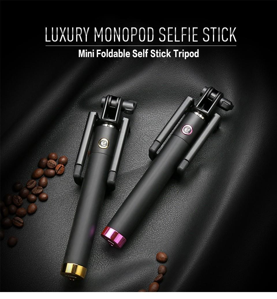 self stick selfie stick monopod camera shutter with jack cable selfiest. Black Bedroom Furniture Sets. Home Design Ideas