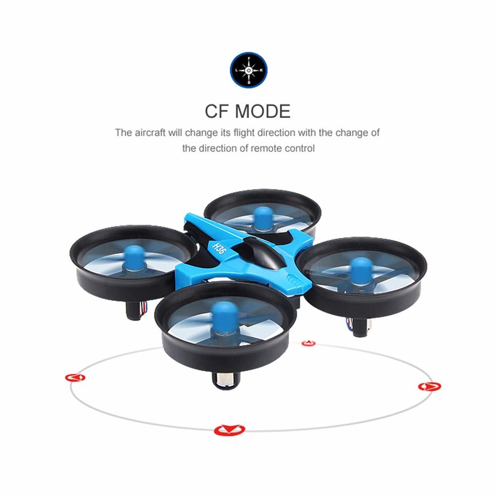 New Original JJRC H36 2.4G 4CH 6 Axis Gyro Mini Drone Headless Mode One Key Return RTF RC Quadcopter RC Dron Helicopter Toys
