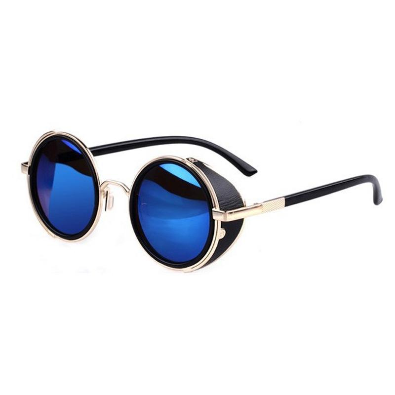 Очки солнцезащитные с круглыми линзами