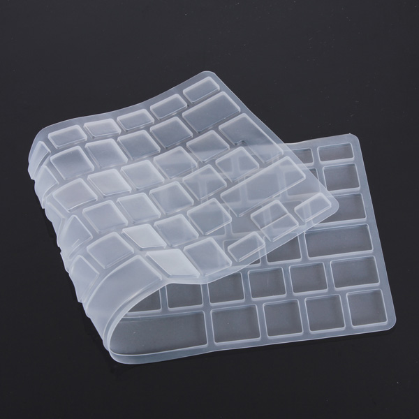 New EU UK Silicon Keyboard Cover Skin Protector for Apple For Macbook Pro 13 15 17