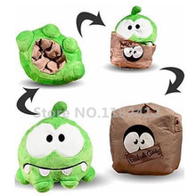 Buy Cut Rope Sad Om Nom Plush Toy Reversible Box Bag 15cm 6'' Cute Frog Stuffed Animals Kids Toys Children Gifts for $13.50 in AliExpress store