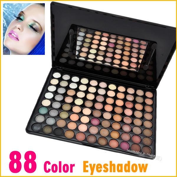 Fashion 88 Colors Eye Shadow Earth Warm Color Makeup Cosmetic Eyeshadow Powder Palette