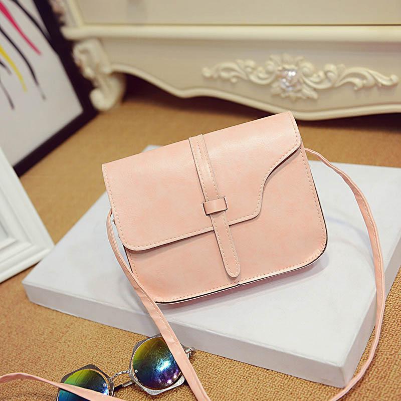Гаджет  2015 Super Deal, New Women Girl Shoulder Bag Faux Leather Satchel Crossbody Tote Handbag Mujer sacs 9 Candy Colors None Камера и Сумки