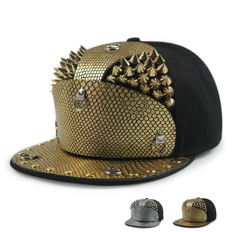 Baseball Caps Choose the golden willow Dingping snakeskin armor letter hat hat male Korean visor outdoor street cap(China (Mainland))