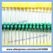 Код индукторы AL0410 0410 68UH 1 / 2 Вт 0.5 Вт осевая ведущий основные индукторы, Резистор в форме индукторы 100 шт./пакет