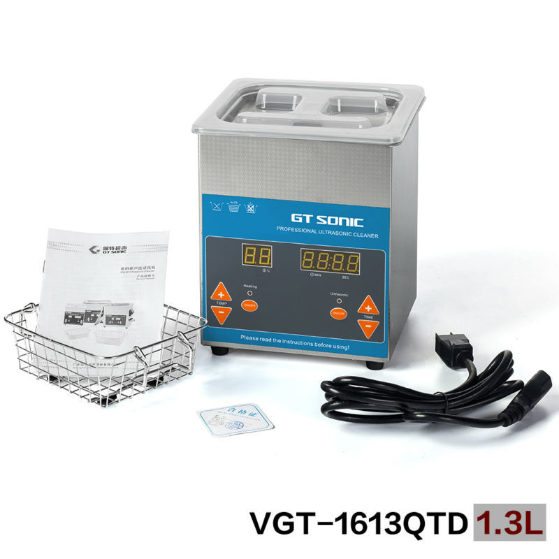 1.3L ultrasonic jewelry cleaner ultrasonic tank cleaning with heating function VGT-1613QTD<br><br>Aliexpress