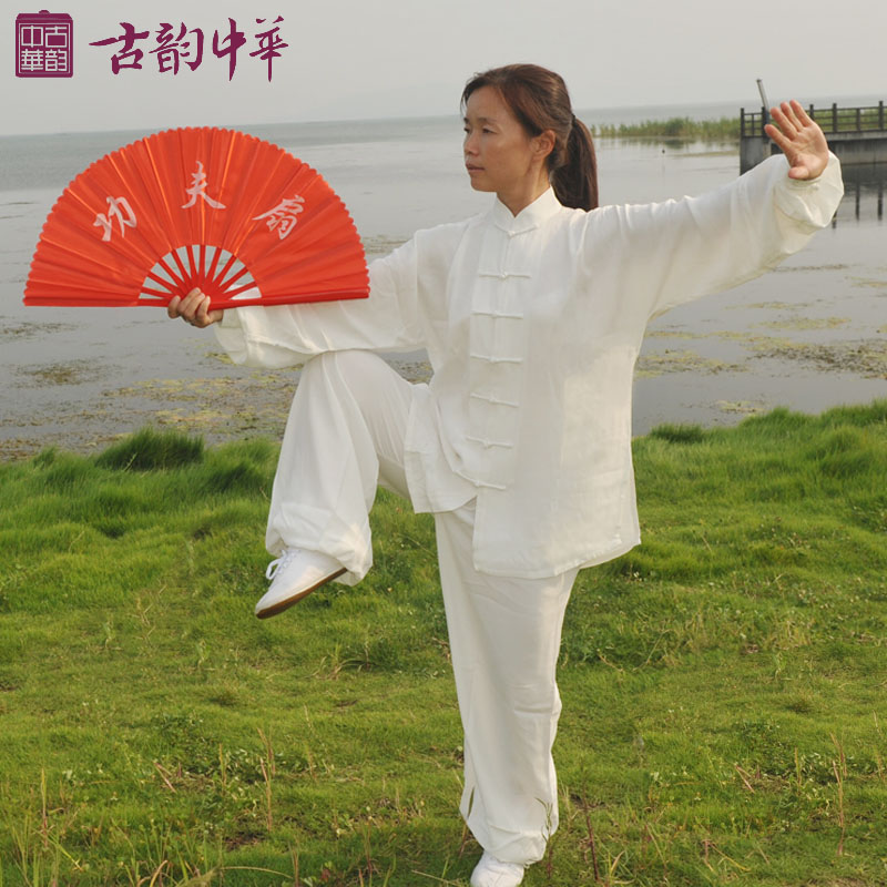 Ancient Chinese Spring Tencel mens and womens fashion show tai chi tai chi clothing clothes clothing<br><br>Aliexpress
