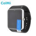 Smart watch gt08 orologio di sincronizzazione notifier supporto sim card bluetooth connettività apple iphone android phone smartwatch orologio