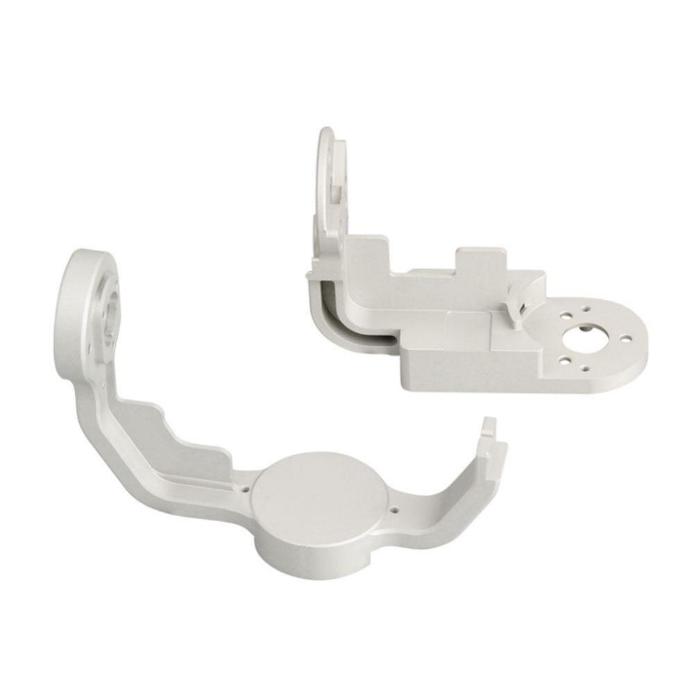 Advanced Pro Gimbal Yaw / Roll Arm Combo Replacement Aluminum Alloy OEM For DJI Phantom 4 White