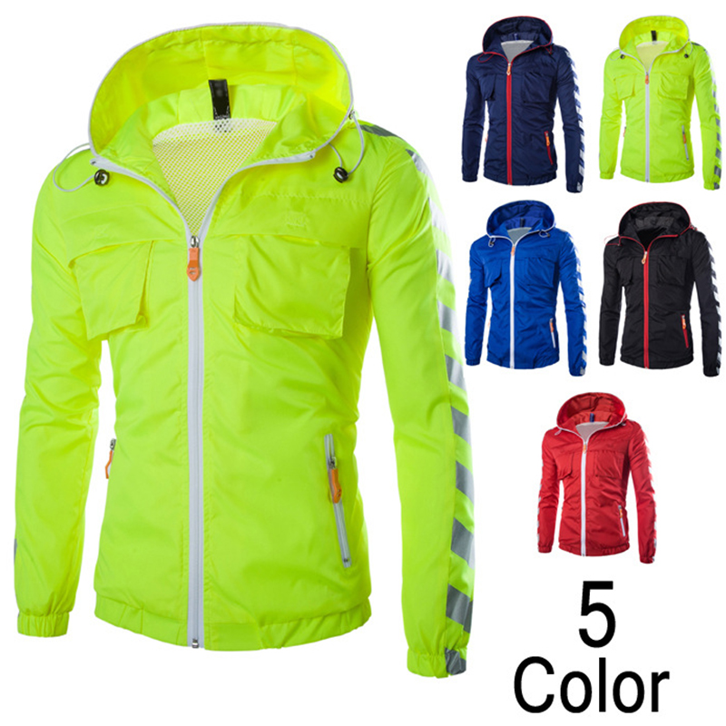 2016New Arrival Winter Men's Solid Fashion Hoodie Jacket Male Casual Slim Fit Solid Men Jacket Coat 5 Colors Sports Outwear(China (Mainland))