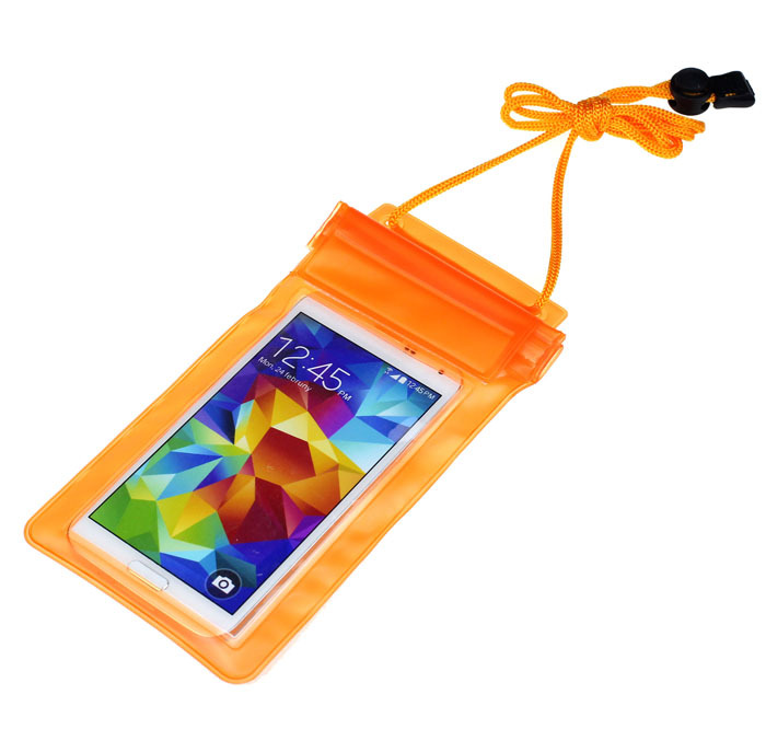 Hillsionly 2015 New 1PC Universal Travel Swimming Waterproof Bag Case Cover for Under 5.5 inch Cell Phone Freeshipping&Wholesale(China (Mainland))