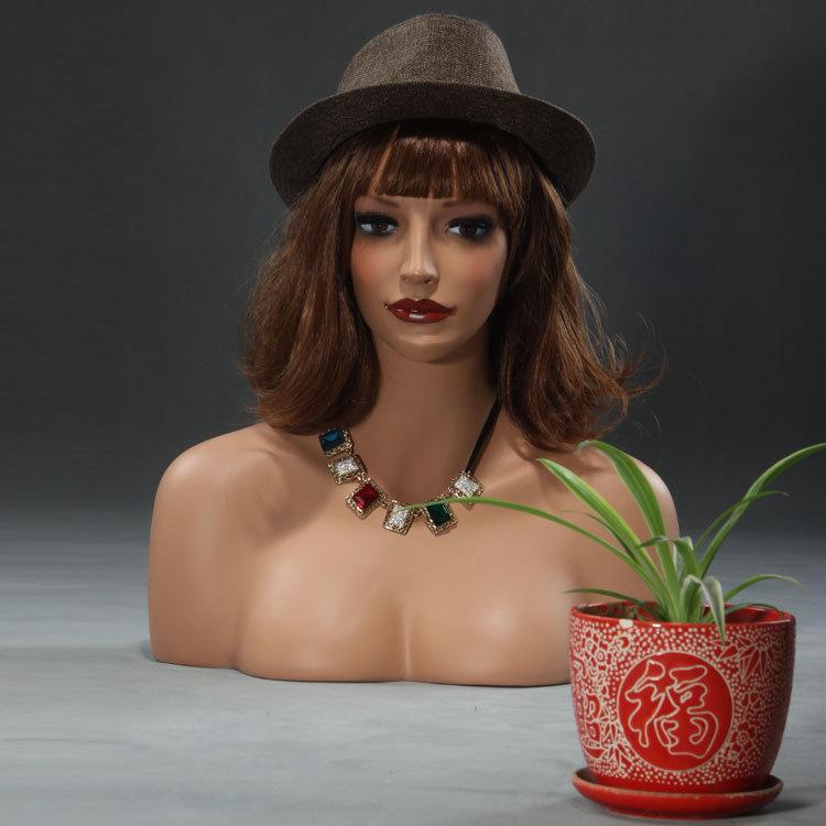 Fiberglass mannequin head(China (Mainland))